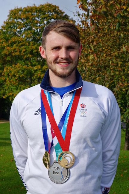 ACT sponsors champion Scottish swimmer Ross Murdoch