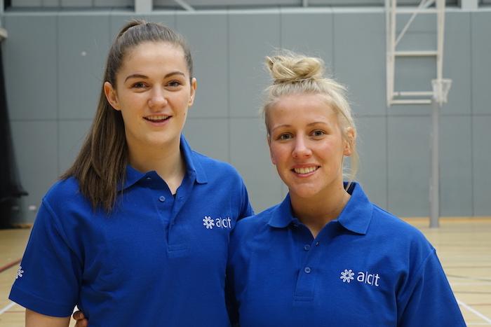 ACT sponsors top Scottish netball players