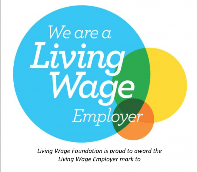 ACT proud to be a Living Wage employer