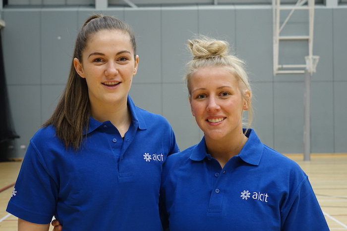 ACT sponsors top Scottish netball players