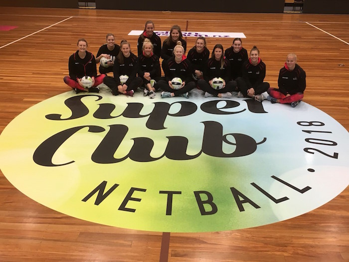 Sponsored netballers 5th in Super Club tournament